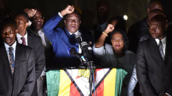 Zimbabwe's incoming president addresses supporters