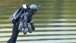 Jet-Powered Suit Sets New Fastest Speed as World Records Tumble