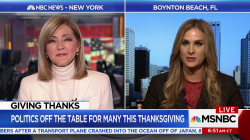 Politics is off the table for many this Thanksgiving