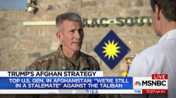 U.S. Afghanistan general: We've reached stalemate against Taliban