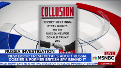 New book reveals more on Russia dossier and British spy behind it