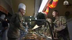 Troops celebrate Thanksgiving in Afghanistan