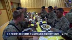 How U.S. troops spend Thanksgiving in Afghanistan