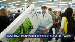 Online spending is up as millions shop Black Friday sales