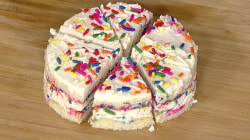 Make this festive 'Funfetti' cake for Thanksgiving