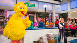 Megyn Kelly meets Big Bird, Elmo and other 'Sesame Street' stars