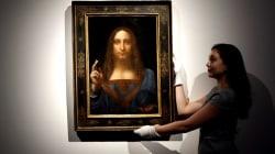 Leonardo da Vinci painting sells for a record-breaking $450 million