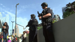 New York City police boost security after terror attack