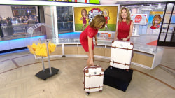 Give It Away: 5 lucky TODAY viewers receive $439 luggage sets