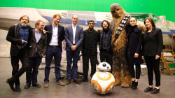 Prince William and Prince Harry have cameo in 'Star Wars: The Last Jedi'