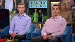 Meet 2 teen soccer teammates diagnosed with cancer just months apart
