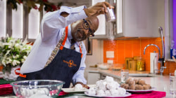 Delicious doughnut snowballs: Al Roker shows how to make them