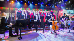 See the Piano Guys perform 'Ode to Joy to the World' live on KLG and Hoda