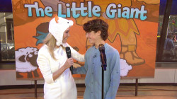 Hear a song from Kathie Lee's new musical project, 'The Little Giant'