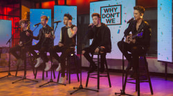 Watch boy band Why Don't We perform 'These Girls' live on TODAY