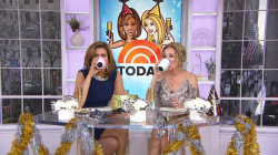 Kathie Lee and Hoda try gadget to keep their wine cool
