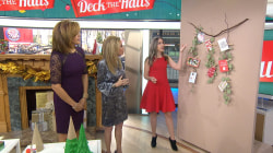 DIY decorating ideas to deck your halls for the holidays