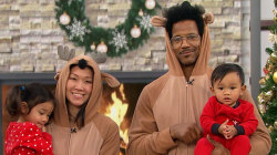 How to rock holiday pajamas, from reindeer onesies to family elf outfits