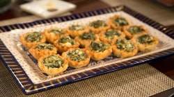 Baked brie, spinach and feta tarts: These holiday appetizers are easy to make