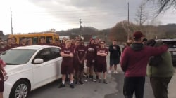 Football coach gets new car from his high school community