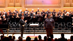 Choir leader brings homeless singers from Texas to Carnegie Hall