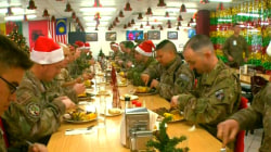 American troops celebrate Christmas from Afghanistan and abroad