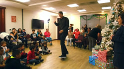 Watch Tony Hawk deliver a Christmas surprise to deserving families