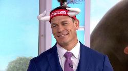 John Cena shares a funny scene from his new animated film 'Ferdinand'