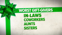 In-laws are the worst gift givers, study says