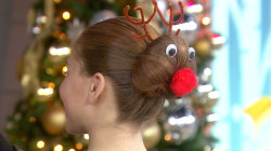 3 holiday hairstyles your kids (and you) will love