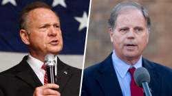 Roy Moore, Doug Jones making last pitches before special Senate election