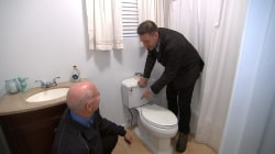 When to replace a toilet supply line and PVC pipe