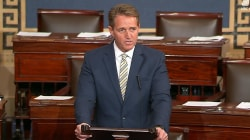 Sen. Flake slams Trump's news media attacks