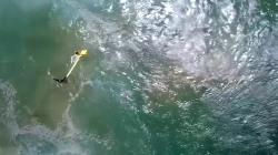 Lifesaving drone rescues swimmers off Australian coast
