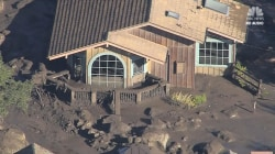 Aerials show Montecito devastation after mudslides