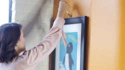 Need help hanging art on your wall? Get the fork out!