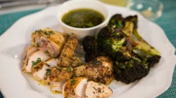 Herb-roasted chicken with salsa verde: Conquer Monday night dinner with these make-ahead recipes
