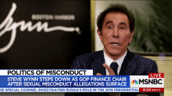 Steve Wynn's resignation hovers over Republican party