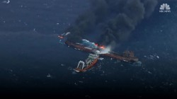 Iranian oil tanker sinks after collision off coast of China