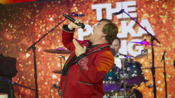 Jack Black talks about 'The Polka King' (and leads a polka performance!)