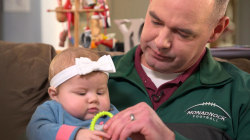 Hero police officer donates part of his liver to save baby girl