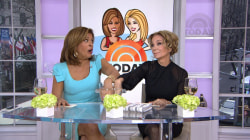 Will swearing help Kathie Lee and Hoda keep their hands in cold water?