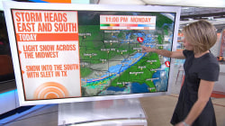 New winter storm to hit Midwest, South and Northeast