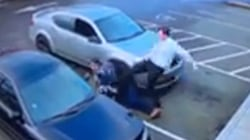 Watch: Good Samaritan rescues woman from attempted carjacking
