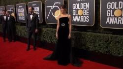 Black dominates fashion on the Golden Globes red carpet