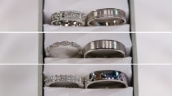 Help choose the rings for live wedding on TODAY: Vote!