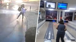 Highs and Lows: Dad slips on black ice, worst bowler shows off skills