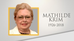 Life well lived: Pioneering AIDS researcher Dr. Mathilde Krim dies at 91