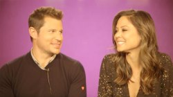 Nick and Vanessa Lachey on the transition from 2 to 3 kids