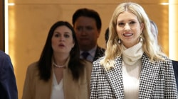 Ivanka Trump arrives in South Korea to attend Winter Olympics closing ceremony